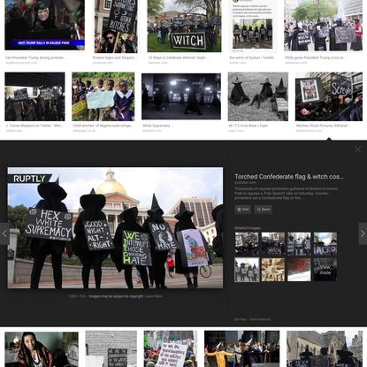 witches protesting - Google Search