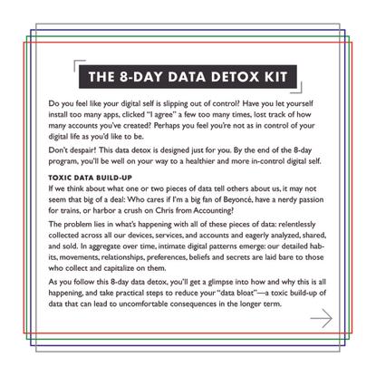 The 8-Day Data Detox Kit : PDF