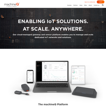Connect to a Network Built for IoT | machineQ IoT