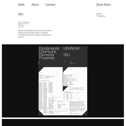 Zivan Rosic Design   92u