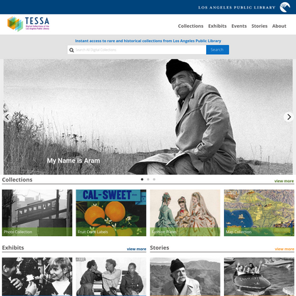 Tessa: Photos and Digital Collections