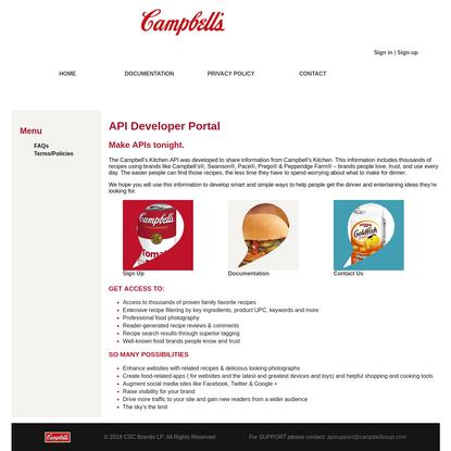 API Developer Portal V2