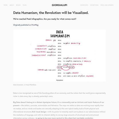 Data Humanism