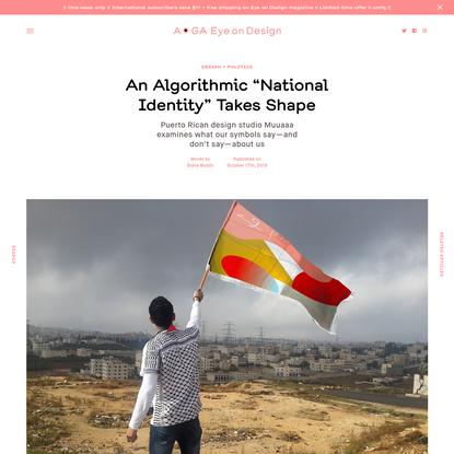 "An Algorithmic ""National Identity"" Takes Shape"