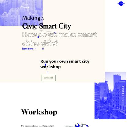 Making A Civic Smart City