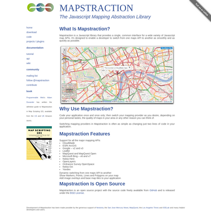 Mapstraction - Home