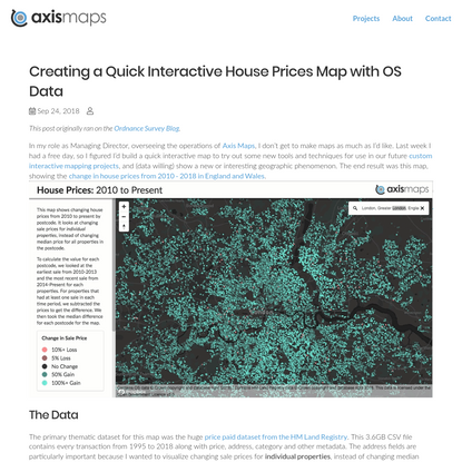 Axis Maps Blog