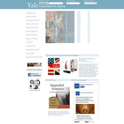 Yale University Press: Publisher of Trade and Academic Books
