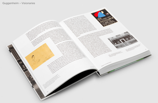 Visionaries: Creating a Modern Guggenheim (designed by Gaviellt & Cie)
