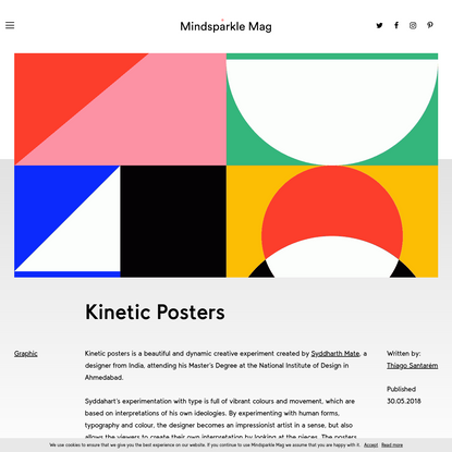 Kinetic Posters - Mindsparkle Mag