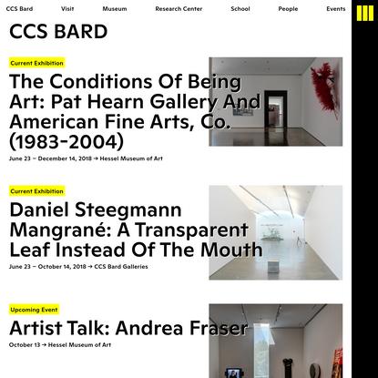 Home - CCS Bard