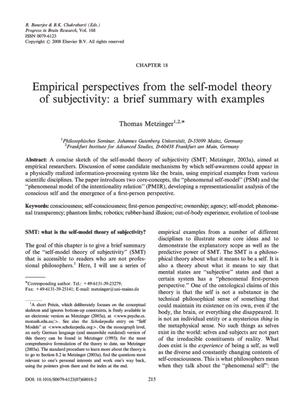 metzinger_2008_pbr168.pdf