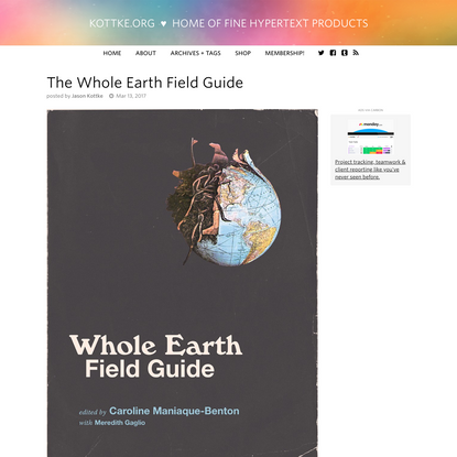 The Whole Earth Field Guide