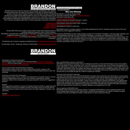 brandon credits