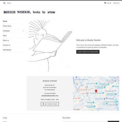 Boekie Woekie - Books By Artists