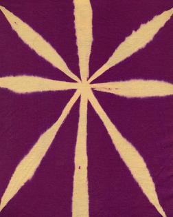 scan of Masaki Matsushima spring/summer 1997 bleached star motif