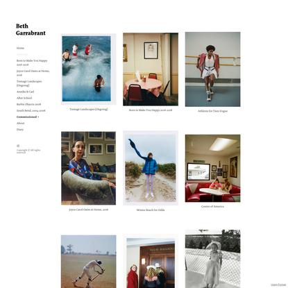 Overview - Beth Garrabrant's Portfolio