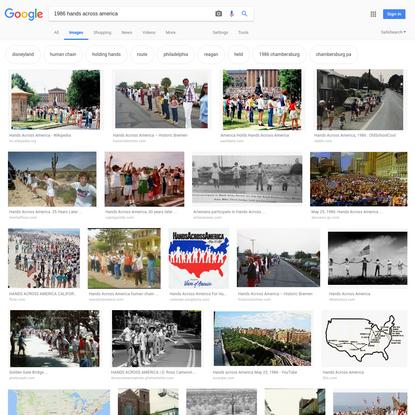 1986 hands across america - Google Search