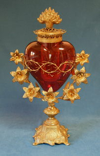 French votive lamps