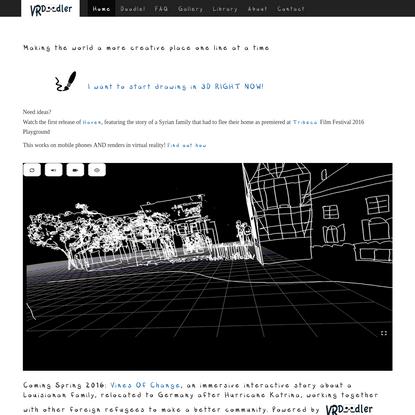 VRDoodler-beta!!!