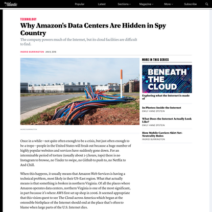 Why Amazon's Data Centers Are Hidden in Spy Country