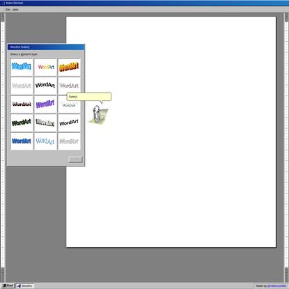 Make WordArt - Online word art generator