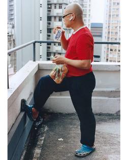 Helmut Lang T-shirt –Hong Kong Taxi driver 3 (1)