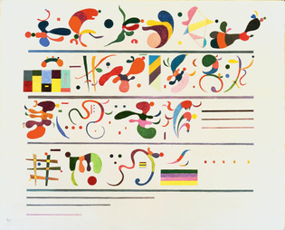 Wassily Kandinsky, Succession, 1935