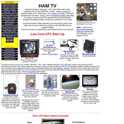 Ham TV - Amateur Television