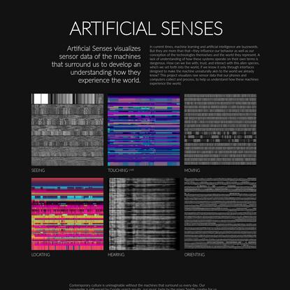 Artificial Senses by Kim Albrecht