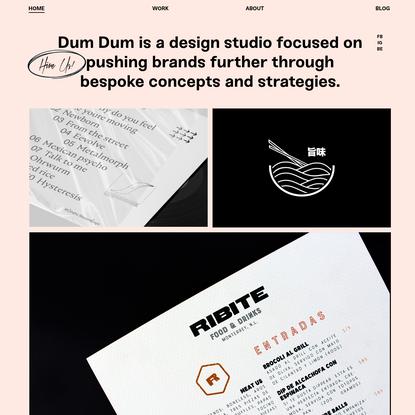 DUM DUM - DESIGN OFFICE