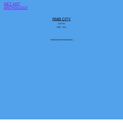 RMB City   Net Art Anthology