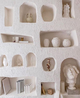 We'd happily forgo a book case for this wall instead. By @studio_haddou_dufourcq #interiors