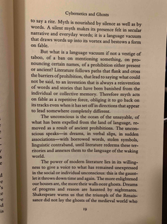 "Italo Calvino, ""Cybernetics and Ghosts"""