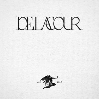 wordmark for Delacour ⌛️🔪