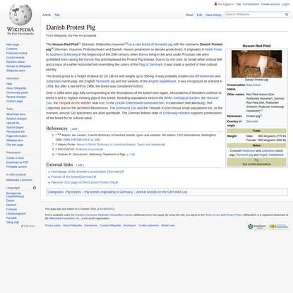 Danish Protest Pig - Wikipedia