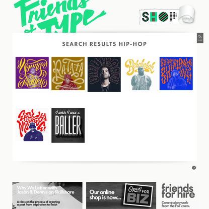 Search Results hip-hop - Friends of Type