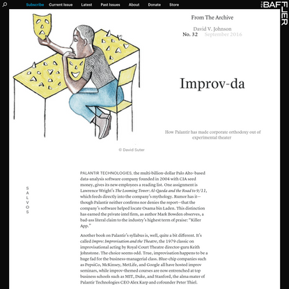 Improv-da | David V. Johnson