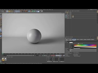 Cinema 4D Tutorial - How to Create a Seamless White Background