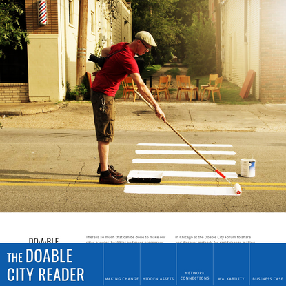 The Doable City Reader