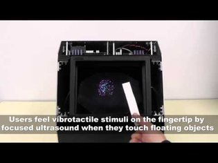 HaptoMime: Mid-Air Haptic Interaction with a Floating Virtual Screen