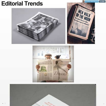 Editorial Trends