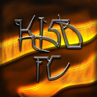 I made a lettering to show my support for @kisd_football_club 🔥🔥🔥🔥🔥🔥🔥🔥🔥🔥 they are playing against the football team from @en...