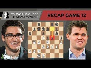 Carlsen vs Caruana (Game 12 Analysis) | World Chess Championship 2018