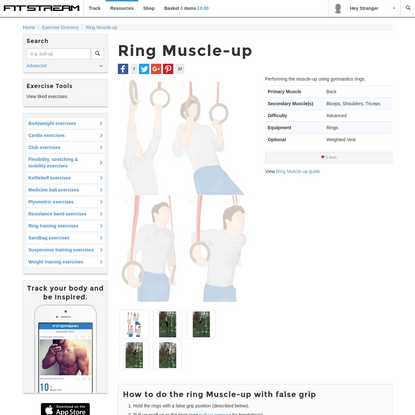 Ring Muscle-up Tutorial, Hints & Tips - Ring Exercises - Fitstream