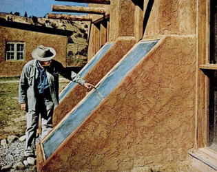 Sun-Dwellings, Peter van Dresser, Ghost Ranch, New Mexico, 1976.