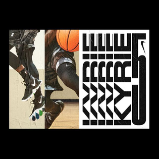 Unselected layout commissioned by @nikebasketball for the @kyrieirving 5 launch. #kyrie5 #kyrieirving Design by @studio.jimbo