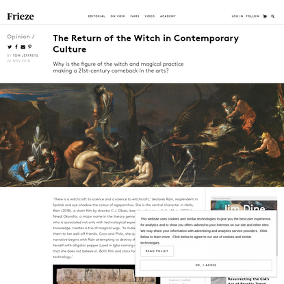 The Return of the Witch in Contemporary Culture