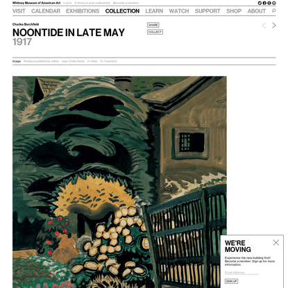 Noontide in Late May