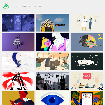 Work - Moth Animation Studio